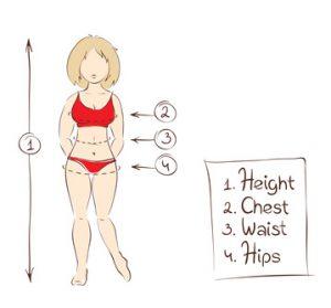 Die Kleidergröße fürs Dirndl ermitteln