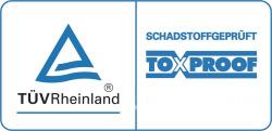 Toxproof vom TÜV Rheinland